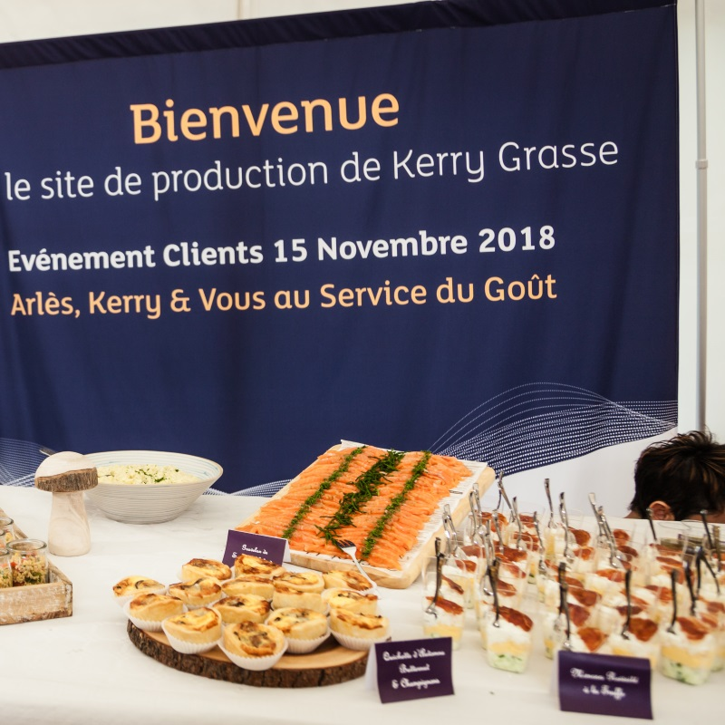 Taste and nutrition on the menu at the Kerry-Arlès Customer Seminar !